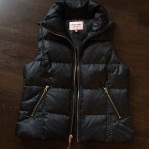 Juicy Couture Black Vest